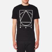 McQ Alexander McQueen Men's Crew Neck Large Logo T-Shirt - Darkest Black