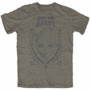 Marvel Guardians of the Galaxy Groot Heren t-shirt - Khaki
