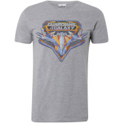 Marvel Men's Guardians of the Galaxy Vol. 2 Milano T-Shirt - Grey