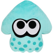 Splatoon Inkling Squid Cushion (Turquoise)