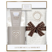Baylis & Harding La Maison Creme Brulee and Cocoa Luxury Mug Set