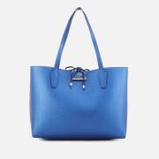 Guess Women's Bobbi Inside Out Tote Bag - Blue Cognac