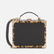Aspinal of London Women's Mini Trunk Clutch Bag - Leopard/Black