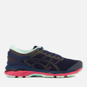 Asics Running Women's Gel Kayano 24 Lite Show Trainers - Indigo Blue/Black/Reflective
