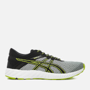 Asics Running Men's Fuze X Lyte 2 Trainers - Mid Grey/Black/Energy Green
