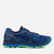 Asics Running Men's Gel Nimbus 19 Lite Show Trainers - Indigo Blue/Directoire Blue/Reflective