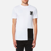 McQ Alexander McQueen Men's Colourblock Short Sleeve T-Shirt - Optic White
