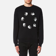 McQ Alexander McQueen Men's Swallow Circle Sweatshirt - Darkest Black