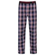 Ben Sherman Men's Blake Check Lounge Pants - Red
