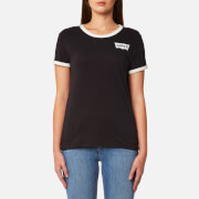 Levi's Women's Perfect Ringer T-Shirt - Jet Black