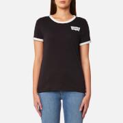 Levi's Women's Perfect Ringer T-Shirt - Jet Black