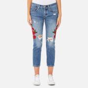 Levi's Women's 501 Cropped Taper Jeans - Custom Blues