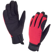 Sealskinz Dragon Eye Road Gloves - Black/Red