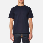 Armor Lux Men's Basic Crew Neck T-Shirt - Navy