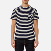 A.P.C. Men's Construction T-Shirt - Dark Navy