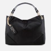 Karl Lagerfeld Women's K/Slouchy Shopper Bag - Black