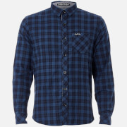 Tokyo Laundry Men's Glendale Flannel Long Sleeve Shirt - Blue