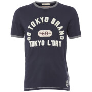 Tokyo Laundry Men's Winterfield Jersey T-Shirt - Dark Navy