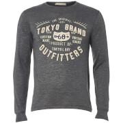 Camiseta manga larga Tokyo Laundry Timperley - Hombre - Gris