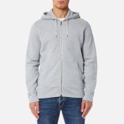 Levi's Men's Original Zip Up Hoody 2 - Medium Grey Heather