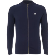 Le Shark Men's Caspian Men's Zip Through Jumper - Maritime Blue
