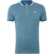 Le Shark Men's Holmdale Zip Polo Shirt - Kingfisher
