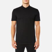 Versace Collection Men's Medusa Back Logo Polo Shirt - Nero