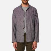 Universal Works Men's Shawl Collar Overshirt - Brown
