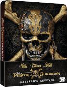Pirates of the Caribbean: Salazar's Revenge 3D - Zavvi UK Exclusive Limited Edition Steelbook (Includes 2D Version)