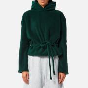 House of Sunny Women's Open Soul Zipped Hoody - Organic Green