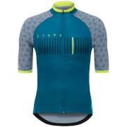 Santini La Vuelta 2017 Stage 15 Granada Jersey - Teal Blue