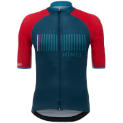 Santini La Vuelta 2017 Stage 1-2-3 Nimes Jersey - Blue/Red