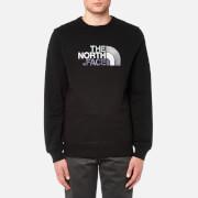 The North Face Men's Drew Peak Crew Neck Sweatshirt - TNF Black