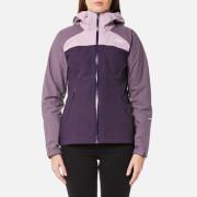 The North Face Women's Stratos Jacket - Dark Eggplant Purple/Black Plum/Purple Agate