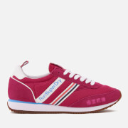Superdry Women's Base Runner Trainers - Gumball Fuchsia
