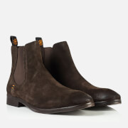 Superdry Men's Meteor Chelsea Boots - Dark Brown Suede