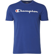 Champion Men's Logo T-Shirt - Blue