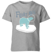 Float On Kid's Grey T-Shirt