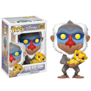 Lion King Rafiki holding Baby Simba Pop! Vinyl figure