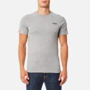 Superdry Men's Orange Label Vintage Emb T-Shirt - Dove Grey Jaspe