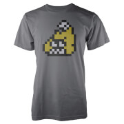 Splatoon Firefin 8-Bit FishFry T-Shirt - Grey (S)