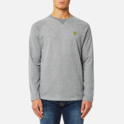 Lyle & Scott Men's Lightweight Crew Neck Sweatshirt - Mid Grey