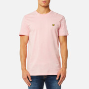 Lyle & Scott Men's Crew Neck T-Shirt - Soft Pink Marl