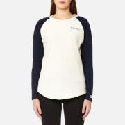 Champion Women's Long Sleeve T-Shirt - White