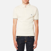 Vivienne Westwood MAN Men's Organic Pique Polo Shirt - Off White