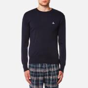 Vivienne Westwood MAN Men's Classic Crew Neck Knitted Jumper - Navy