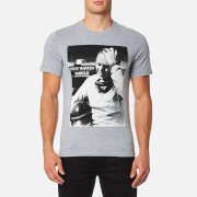 Barbour X Steve McQueen Men's Close Up T-Shirt - Grey Marl