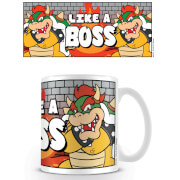 Super Mario Coffee Mug (Like a Boss)
