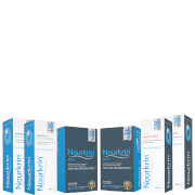 Nourkrin Man for Hair Preservation 6 Month Bundle with Shampoo and Conditioner x2 (Worth £311.78)