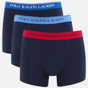 Polo Ralph Lauren Men's 3 Pack Boxer Shorts - Navy/Contrast Waistband